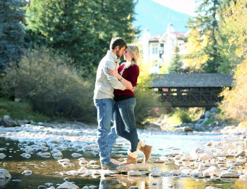 Tanner & Krista, Vail, Colorado
