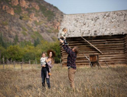Streeter Family, Sylivan Lake State Park, Colorado