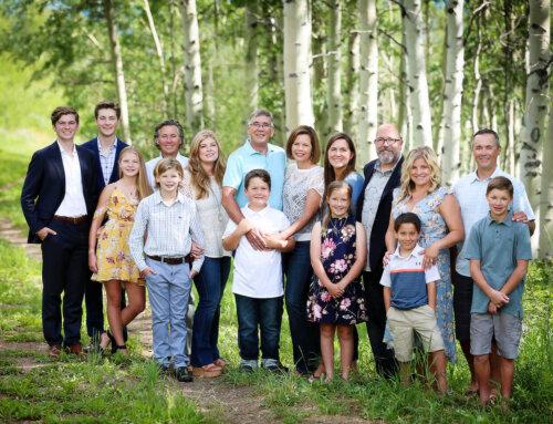 Family Lifestyle Portraits, Beaver Creek, Colorado