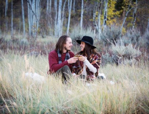 Casey & Jeff, Fall Engagment, Colorado